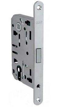 Магнитный механизм для межкомнатных дверей под цилиндр.Материал: сталь Размеры: 132 х 50 мм Торцевая планка 196 мм