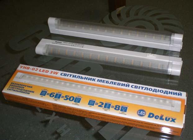 Светодиодный мебельний светильник YHB-02